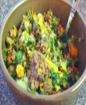 Taco Salad Healthy Recipe