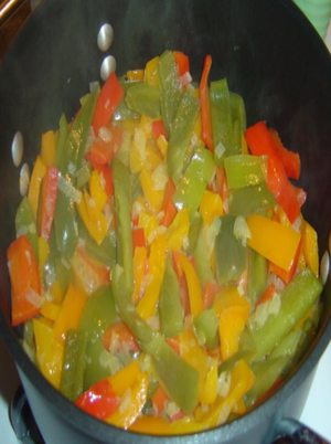 Tri-Colour Sweet Pepper Soup Healthy Recipe