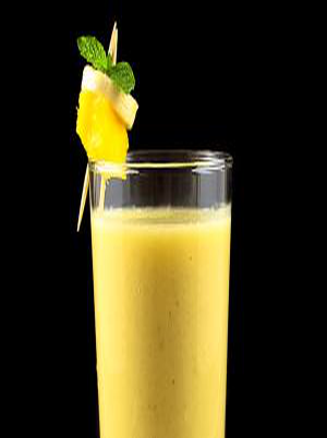 Tropical Fruit Smoothie Healthy Recipe