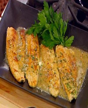 Trout a la Meunière Healthy Recipe