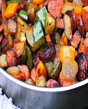 Turkey Kielbasa Hash Healthy Recipe