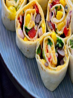 Vegan Mexican Tortilla Roll Ups Healthy Recipe