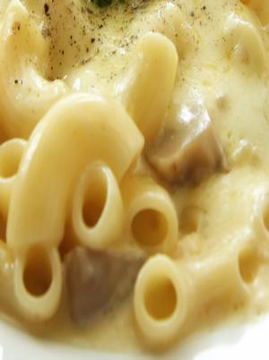 Vegan Toasted Mushroom Macaroni Healthy Recipe