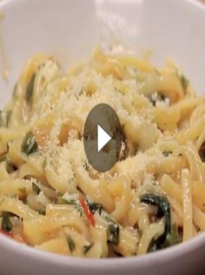 Vegan Tomato, Onion, and Garlic Pasta Healthy Recipe