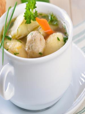 Vegan Vegetable and Dumpling Soup Healthy Recipe