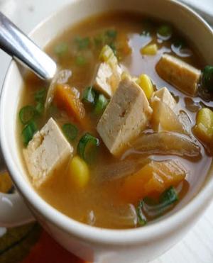Vegetable Miso Soup Healthy Recipe
