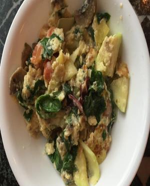 Veggie Omelet Healthy Recipe