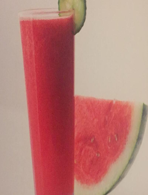Watermelon Cooler Smoothie Healthy Recipe