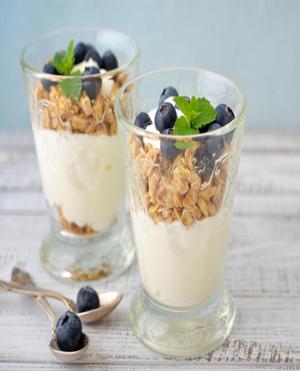Yogurt Parfait Healthy Recipe