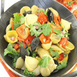 Garden style pasta