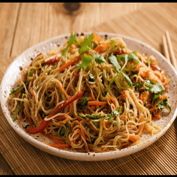 Korean-Style Noodles with Vegetables