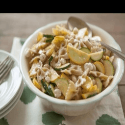 Pasta with White Beans and Summer Squash