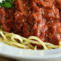 Simple Spaghetti and Meat Sauce