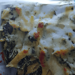 Spinach and Feta Penne Bake