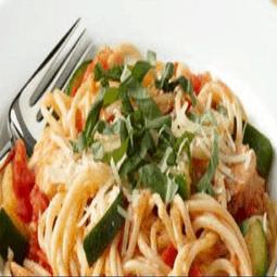 Veggie Spaghetti with Potato Sauce